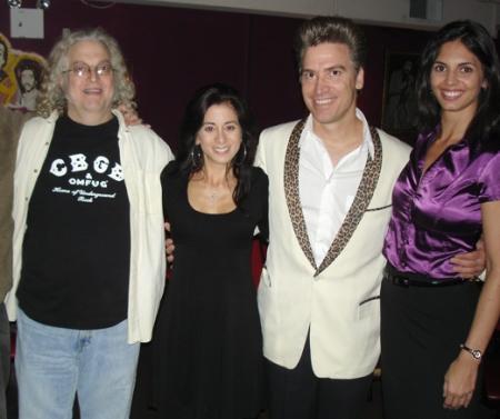 Bruce Cherry, Ellen Karis, Lord Carrett and KK Volunteer Safia