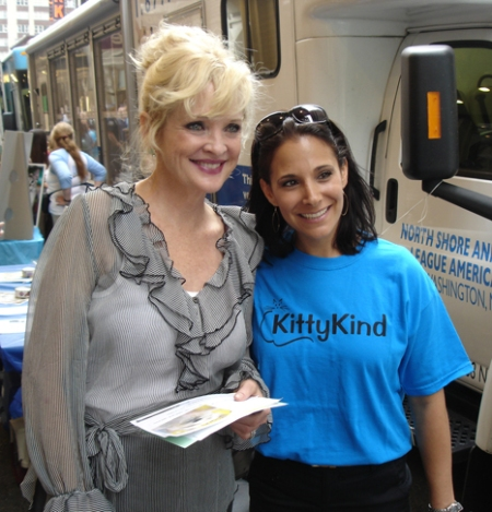 Christine Ebersole and KK Volunteer Josey